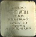 Stolperstein René Weill (Muttersholtz)