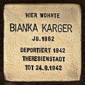 Stolperstein für Bianka Karger (Cottbus).jpg