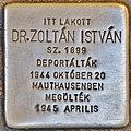 Stolperstein für Dr. Istvan Zoltan (Budapest).jpg