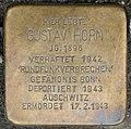 Stolpersteine Köln, Gustav Horn (Lütticher Straße 40).jpg