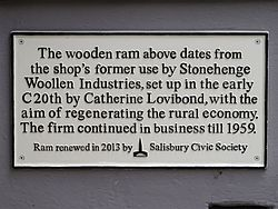 Stonehenge woollen industries (salisbury)