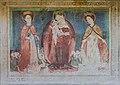 Straßburg Lieding Pfarrkirche Chorschräge aussen got. Wandmalerei 15042015 1976.jpg