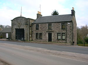 Strathaven - The Town Mill and Miller's house