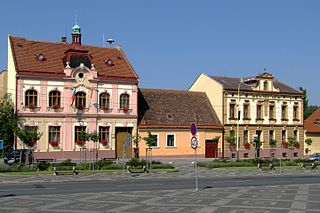 Strážnice Town in South Moravian, Czech Republic