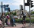 Street scene near Millennium Centre - geograph.org.uk - 470053.jpg
