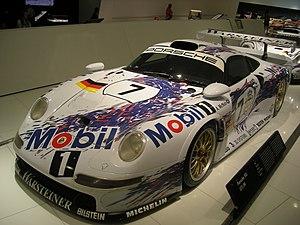 Porsche 911 GT1 - Image: Stuttgart Jul 2012 25 (Porsche Museum 1996 Porsche 911 GT1 96)