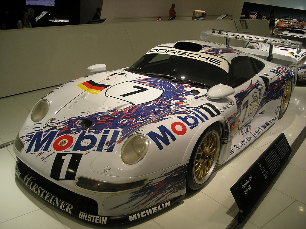 file stuttgart jul 2012 25 porsche museum 1996 porsche 911 gt1 96 jpg wikimedia commons. Black Bedroom Furniture Sets. Home Design Ideas