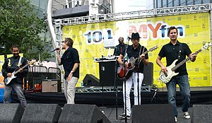 The band Sugar Ray on June 15, 2009 performing...