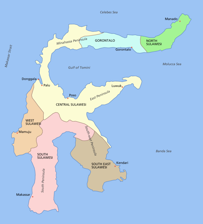 File Sulawesi Map Png Wikimedia Commons