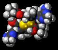 Sulbutiamine 3D spacefill.png