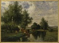 Summer Landscape in Blekinge (Edvard Bergh) - Nationalmuseum - 18810.tif