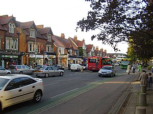 Banbury Road - Shops on Banbury Road in Summertown.