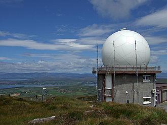 Irish Aviation Authority - Irish Aviation Authority radar tracking installation