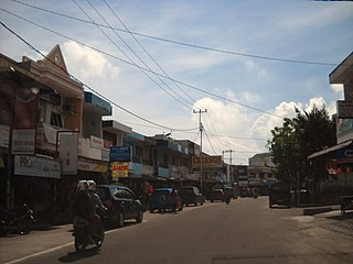 Town in Bangka Belitung Islands, Indonesia