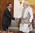 Sunil Gavaskar meets PM Modi.jpg