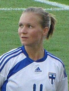 Susanna Lehtinen Finnish footballer