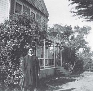 Swami Vivekananda in California - Vivekananda at Mead sisters house, South Pasadena, California