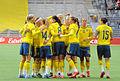 Sweden - Denmark, 8 April 2015 (16901372319).jpg