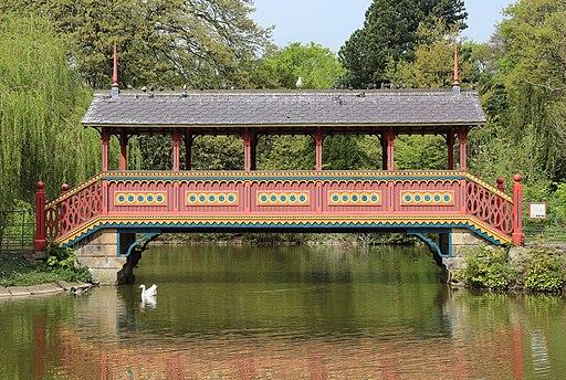 Swiss Bridge, Birkenhead Park 2019-1