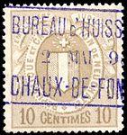 Switzerland Neuchâtel 1879 revenue 3 10c - 3C.jpg