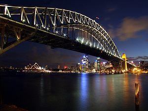 Sydney Harbour Bridge, edited