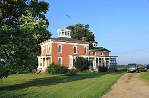 Sylvan Township, Washtenaw County, Michigan - Image: Sylvan Township Michigan Farmhouse