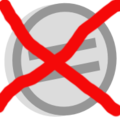Symbol neutral vote - NO.png