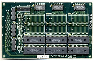 Namco System 22 - Image: Sys 22 point rom pcb 01