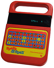 A TI Speak-n-Spell