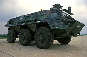المدرعة الالمانية(Transportpanzer 1 Fuchs) 300px-TPz_1_Fuchs_NBC_reconnaissance_vehicle
