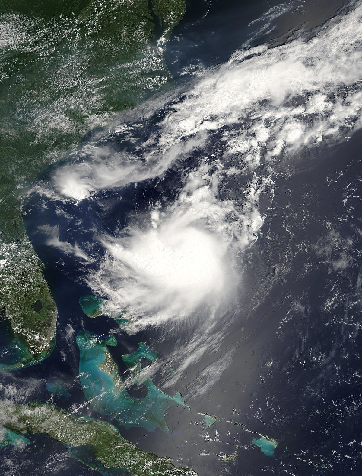 Tropical Storm Franklin (2005) - Wikipedia
