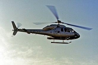Television South - TVS News radio link helicopter