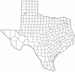 Location of Dimmitt, Texas