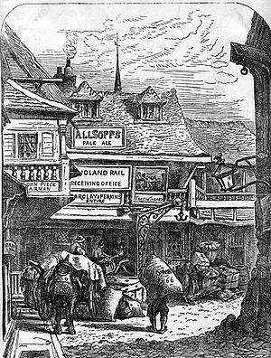 General Prologue - The Tabard Inn, Southwark, around 1850