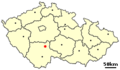 Tabor, Czech town - location.png