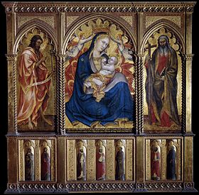 280px taddeo di bartolo virgin and child with st john for Di bartolo arredamenti srl
