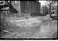 Taddle creek at the southeast corner of Lowther and Huron, near the University of Toronto, circa 1928.jpg