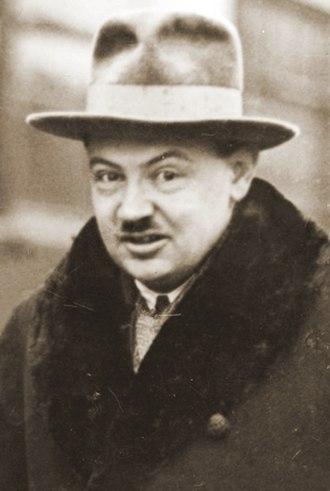 Sanation - Image: Tadeusz Hołówko 1929