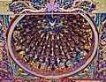 Taipeh Guandu Temple Haupthalle Decke 2.jpg