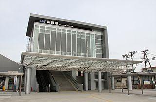 Takaoka Station (Toyama) Railway station in Takaoka, Toyama Prefecture, Japan