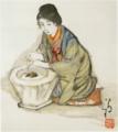 TakehisaYumeji-1928-Women Four Seasons Winter.png