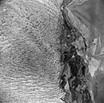 Taku Glacier, tidewater glacier terminus, September 1, 1970 (GLACIERS 6187).jpg