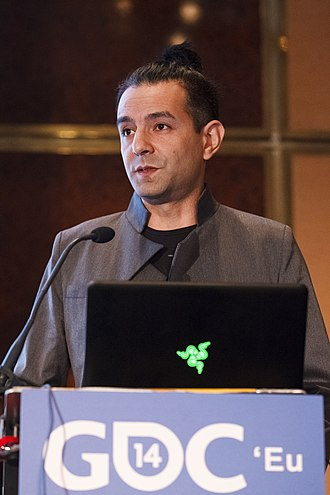 DmC: Devil May Cry - Tameem Antoniades, the game's director and writer, at Game Developers Conference 2014