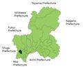 Tarui in Gifu Prefecture.png