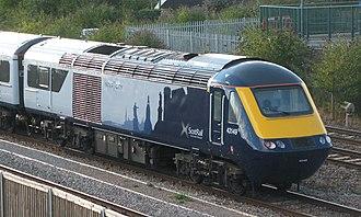 Abellio ScotRail - Image: Taunton Abellio Scot Rail 43149