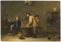 Tavern Scene with Pipe-smokers - Nationalmuseum - 17656.tif