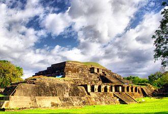 Central America - Tazumal, El Salvador.