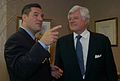 Ted Kennedy, Michael Wildes, July 11, 2005.jpg
