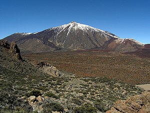 National park - The Teide National Park in Tenerife, Spain