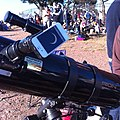 Telescope photography rig for the annular eclipse of May 2012.jpg